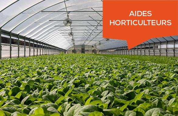 aide horticulteurs